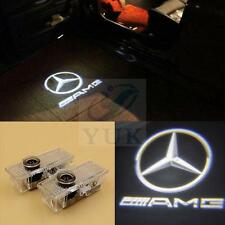 2x For Mercedes-Benz CLS CLA Laser LED Door courtesy Shadow Projector Lights AMG