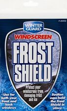 2 x Frost Ice Snow Shield Cover Protector Car Windscreen Front or Rear Window