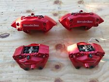 00-03 MERCEDES-BENZ W163 ML55 AMG HIGH PERFORMANCE BRAKE CALIPERS FULL SET OEM