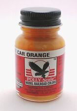Testors Polly Scale Acrylic Paint No. F414392 SCL Caboose Car Orange 1oz Bottle