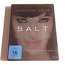 Salt Blu Ray Steelbook [Germany] Limited Edition! Region Free! New & Sealed!
