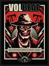 Volbeat Ghoul Frame Patch (SP2809)Volbeat  Aufnäher  Gewebt & Lizenziert