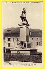 CPA REMIREMONT (Vosges) STATUE de Jules MÉLINE inauguré le 26 Aout 1928