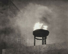 1936 Vintage OLYMPIC FLAME ~ Germany Photo Gravure Fine Art By LENI RIEFENSTAHL