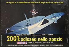 CINEMA-fotobusta 2001: ODISSEA NELLO SPAZIO -S. KUBRICK