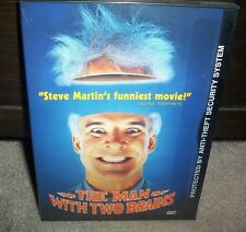 The Man With Two Brains Steve Martin Kathleen Turner Factory Sealed!