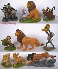 LOT OF 9 DISNEY THE LION KING FIGURES Simba Nala Scar Rafiki Pumbaa Cake Topper