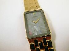 Lassale by Seiko Gold Tone Stainless Steel 7N00-5C90 Sample Watch NON-WORKING