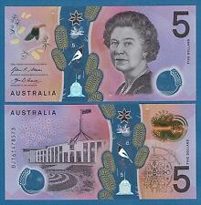 Australia 5 Dollars P - New 2016 UNC Low Shipping! Combine FREE! Polymer