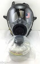 40mm SGE 150 Gas Mask w/Military-Grade NBC/CBRN Filter - Brand New, Exp 2021 NIB