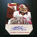 2013 PANINI PLAYBOOK FOOTBALL ROBERT GRIFFIN III RED AUTO 9/10 REDSKINS HOT