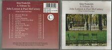 KLAUS WUNDERLICH A TRIBUTE TO JOHN LENNON & PAUL McCARTNEY CD