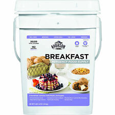 Augason Farms ~ Emergency Food Supply BREAKFAST Pail, Camping Survival Outdoor