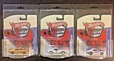 Hot Wheels Vintage Racing FORD MUSTANG SET Lot of 3 1965-70 with Protectors MoMC