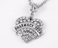 Pharmacy tech charm fits Pharmacy jewelry charm only Pharmacist tech gift best