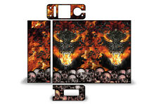 Skin Wrap for Smok X Cube 2 160 Watt BOX Decal Sticker Skins Accessory 160W FIRE