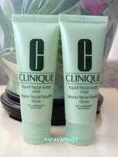 2 x Clinique~Liquid Facial Soap MILD~tube 3.4oz / 100ml