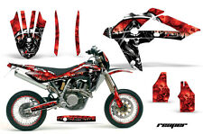 Husqvarna SM/TC/TE Graphic Kit AMR Racing # Plates Decal Sticker Part 05-08 RPR