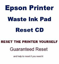 EPSON STYLUS PHOTO R2880 PRINTER WASTE INK PADS SERVICE ERROR FAULT RESET FIX CD