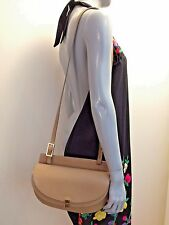 Chloe Chesnut Cream Calfskin Leather Georgia Crossbody Handbag MSRP $1050