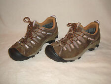 KEEN TARGHEE II MEN'S BROWN LEATHER WATERPROOF HIKING SHOES SIZE 12M