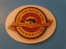 Beer COASTER ~ ROYAL OAK Brewery 1995 ~ ROCHESTER MILLS Beer Co 1998 ~ MICHIGAN