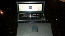 Vintage Chrome Cross Pen And Pencil Set Original box and Papers