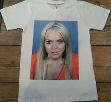 Mean Girls Mugshot T shirt  Small, Medium, Large, XL Lindsay Lohan