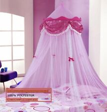 Princess Canopy Comfort PINK Girl Kids Sleepy Time Bedroom Lovely Mosquito Net