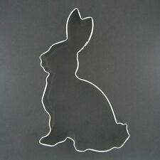 "RABBIT 4.5"" METAL COOKIE CUTTER BUNNY BIRTHDAY PARTY STENCIL PARTY FAVOR NEW"