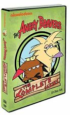 The Angry Beavers . The Complete Series . Animated . Nickelodeon . 10 DVD . NEU