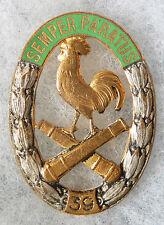 INSIGNE ARTILLERIE - 39° Régiment d'Artillerie - Drago Paris - Dos doré