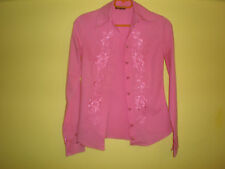 Pink Shirt DENNY ROSE for Women(Size:M)-(97%Cotton-3%Elastan)-(MADE IN ITALY)