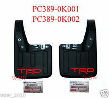 Genuine Toyota Hilux TRD Rear Mud Flaps Splash Guards REVO Accessories 2016 2017