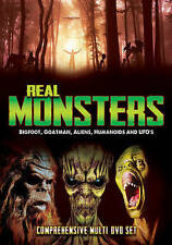 Real Monsters: Bigfoot, Goatman, Aliens, Humanoids and UFOs DVD, 2016