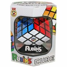IDEAL Original RUBIKS CUBE CLASSIC 3x3 with Stand - Retro Fun Puzzle Game