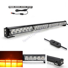Amber LED Flash Recovery Warning Light Bar Flashing Beacon Truck Strobes