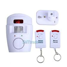 105dB Infrared Motion Sensor Detector Alarm Wireless Remote Home Security System