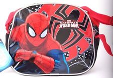 "Marvel Ultimate Spider-Man Insulated Carry On Lunch-Bag 10"" Diagonal W/Handle"