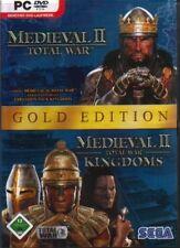 Medieval TOTAL WAR 2 GOLD JEWELCASE successore di Shogun Rome OTTIMO zustan