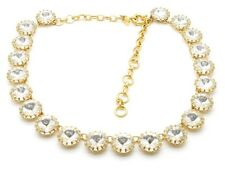 J Crew Swarovski Martha Prong Set Crystal Necklace $165 Chunky Sparkly