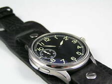 SUPERB LEATHER BUND WATCH STRAP 4 ALL MILITARY DIVERS WATCHES MWC IWC LUMINOX 22