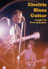 Fred Sokolow Electric Blues Guitar Learn Play Eric Clapton Buddy Guy Music DVD