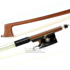 Master D.PECCATTE Copy Pernambuco Violin Bow 4/4 Value Frog Silver Parts 61.8g