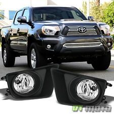 2012-2015 Toyota Tacoma Pickup Truck Bumper Fog Lights Lamps w/Switch Left+Right