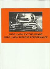 Audi auto union audi 80 et audi super 90 sales brochure 1967