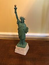 """STATUE OF LIBERTY Colbert Art 11"""" Figurine by Wang Jida 84 signed & numbered"""