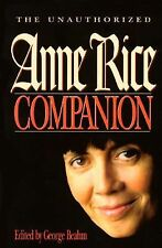 The Unauthorized ANNE RICE Companion by George Beahm 1996 PB