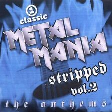 Various Artists Vh1 Classic Metal Mania Stripped 2: Anth CD