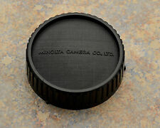 Excellent Genuine Minolta Rear Lens Cap SR/MC/MD Rokkor (#1225)